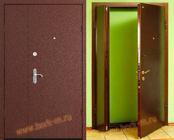 металлические двери для площадки
